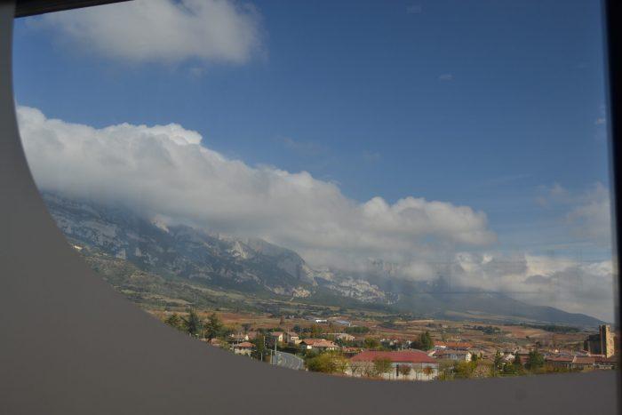 Vista de Samaniego y Sierra Cantabria