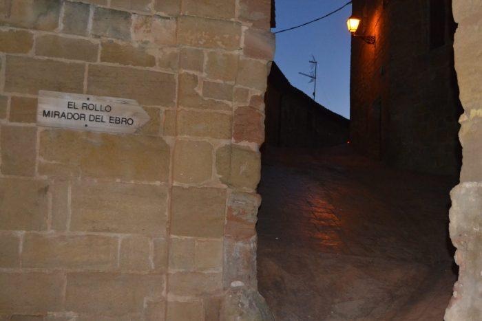Calle hacia el Mirador del Rollo