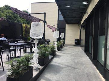 Terraza de Regi Jatetxea de Urduliz