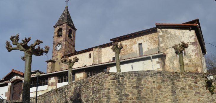 Iglesia de San Martín de Ezkurra