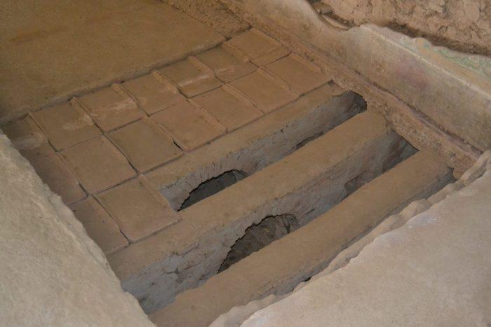Calefacción subterranea