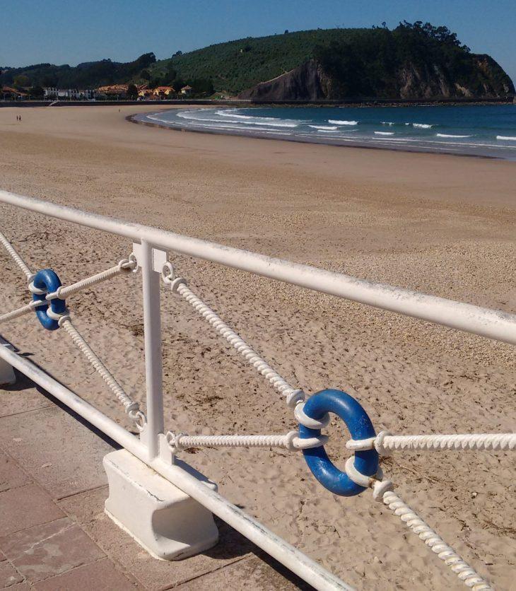 Paseo Marítimo de la Playa de Santa Marina