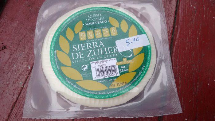 Queso de cabra Sierra de Zuheros