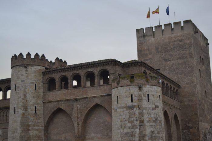 Torre del Trovador del Palacio de la Aljaferia