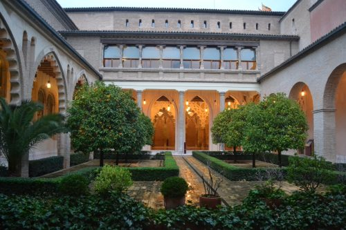 Patio del Palacio árabe