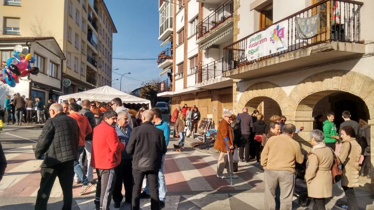 Fiesta del euskera en Atxondo