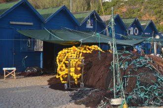 Casetas de pescadores