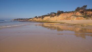 Parte oeste de Praia Maria Luisa