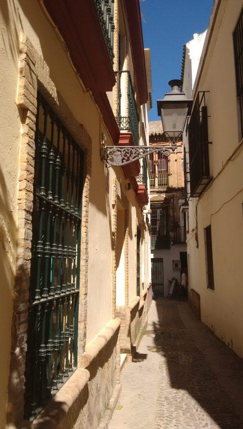 Barrio Santa Cruz de Sevilla