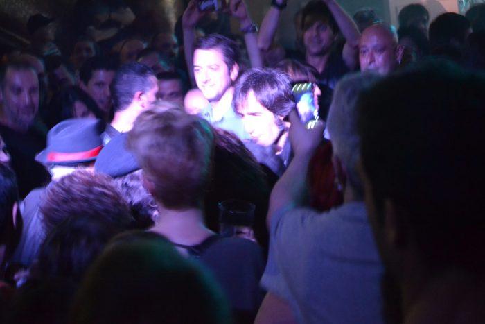Francis y Joe entre el público