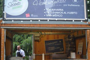 Puesto de Hamburguesas del Restaurante Iruñazarra