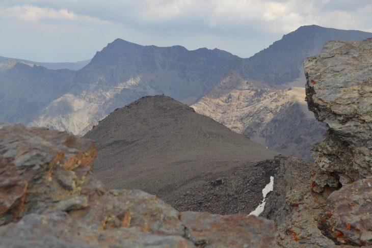 Mulhacén y varios picos de Sierra Nevada