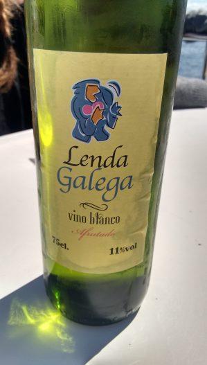 Vino blanco Lenda Galega