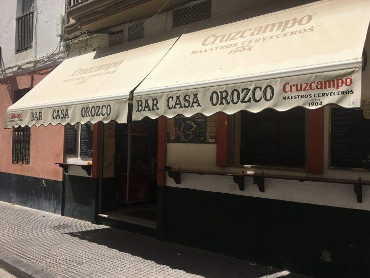 Bar Casa Orozco de Cádiz