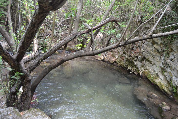 Poza en el Río Majaceite