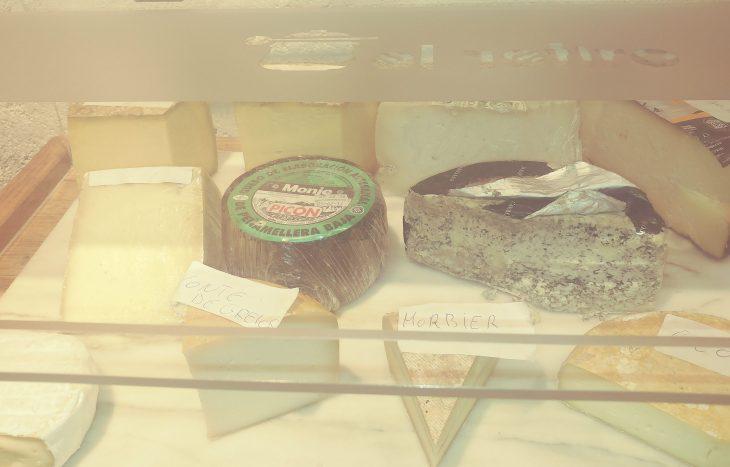 Cheese corner del Restaurante El Retiro de LLanes