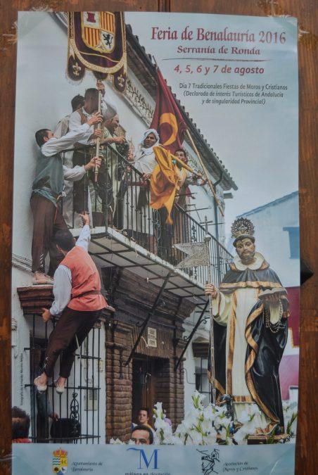 Feria y Fiesta de Moros y Cristianos de Benalauría