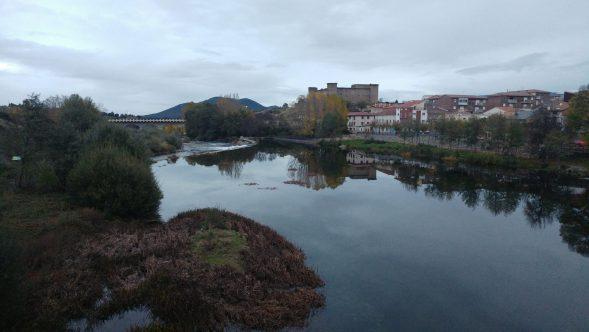 Vistas del Río Tormes a su paso por El Barco de Ávila