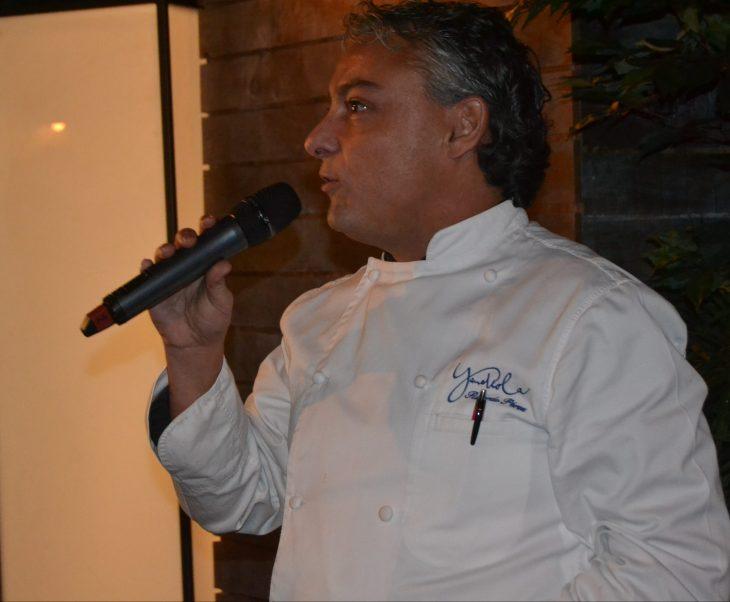 Ricardo Pérez chef del Restaurante Yandiola