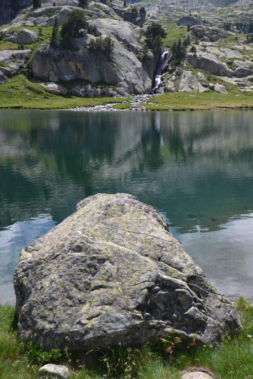 Vista del Estanh des Garguilhs de Jons