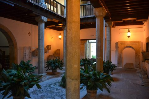 Interior de la Casa Mudéjar de Úbeda
