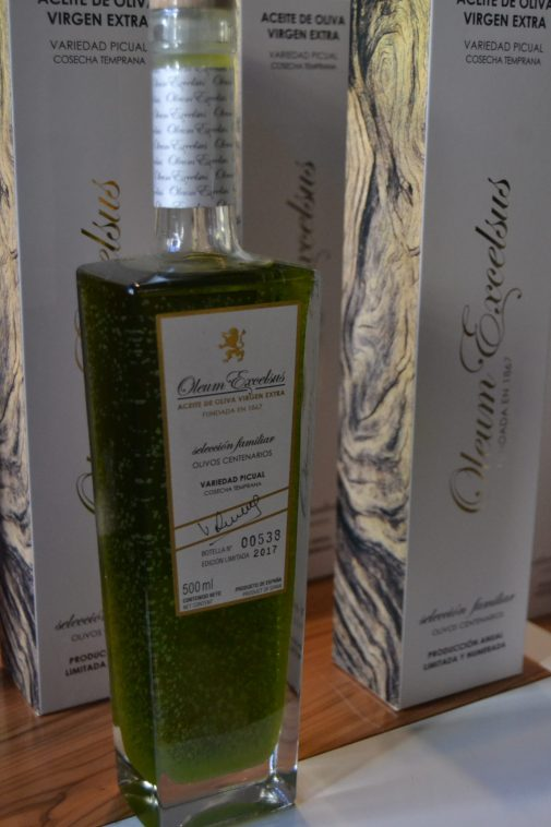 Aceite de oliva virgen extra Oleum Excelsus