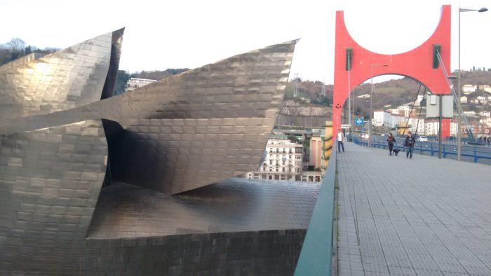 Puente de la Salve y Guggenheim de Bilbao