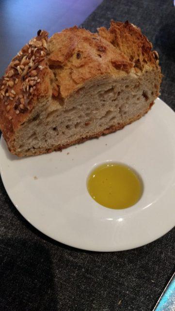 Pan de semillas y cereales con AOVE