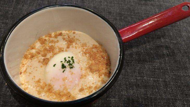 Huevo Euskal Oiloa, carbonara y migas