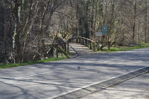 Cruce por la carretera y Puente Pilares