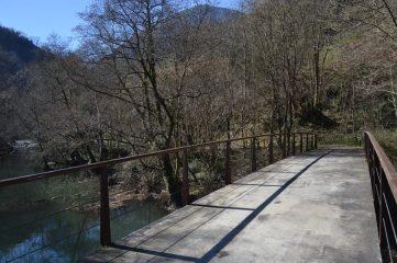 Puente sobre el Embalse de Horniella