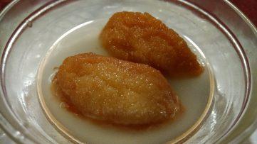 Croquetas de pan con almibar