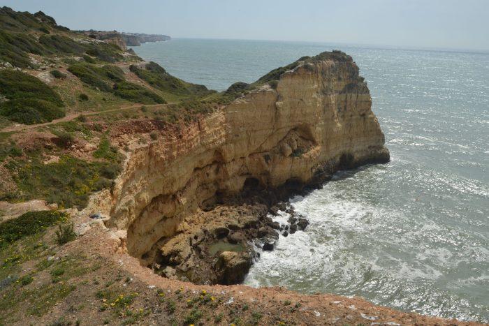 Cala de piedras del Algarve