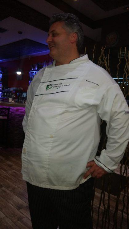 El cocinero Manuel Eduardo