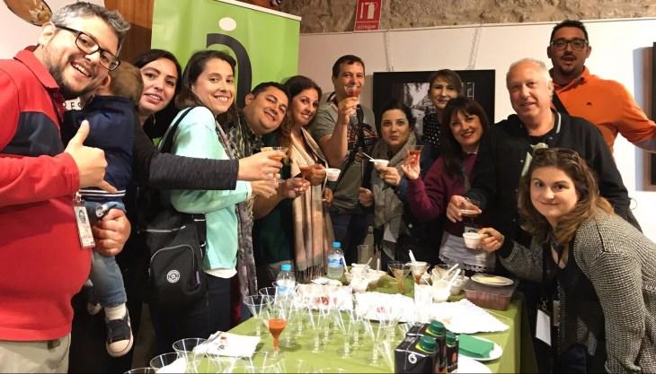 Bloggers y Tuiteros en la Degustación de productos de Ávila Autentica