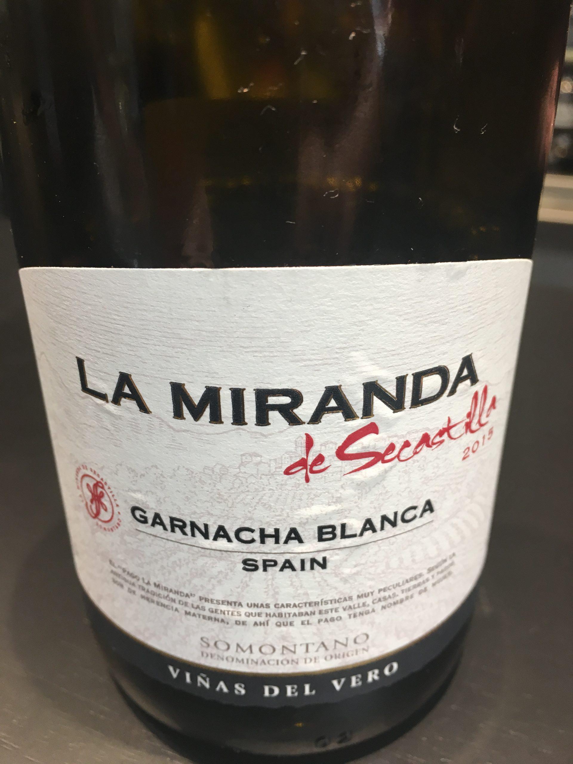 Vino La Miranda de Secastilla