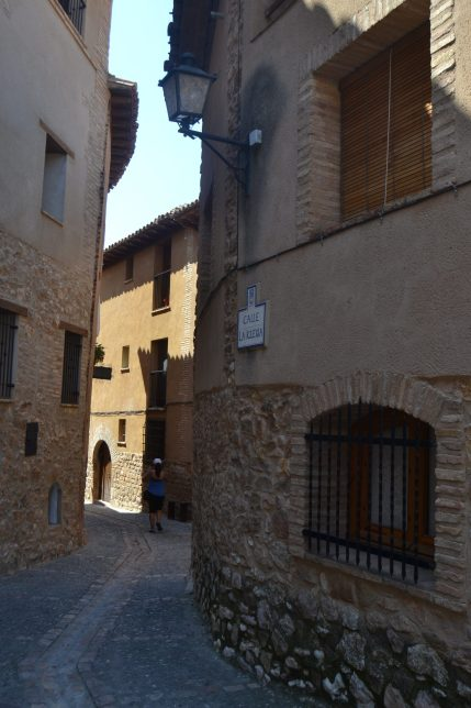 Calle de la Iglesia de Alquézar