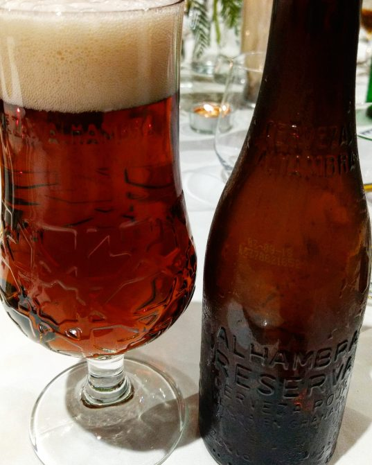 Cerveza Alhambra Reserva Roja