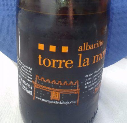Vino Albariño Torre la Moreira