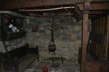 Cocina de una casa asturiana