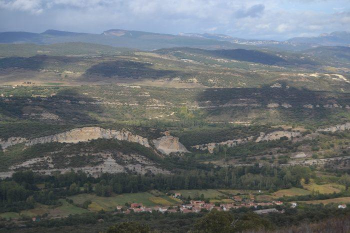 Brizuela desde el Monte de Rojo
