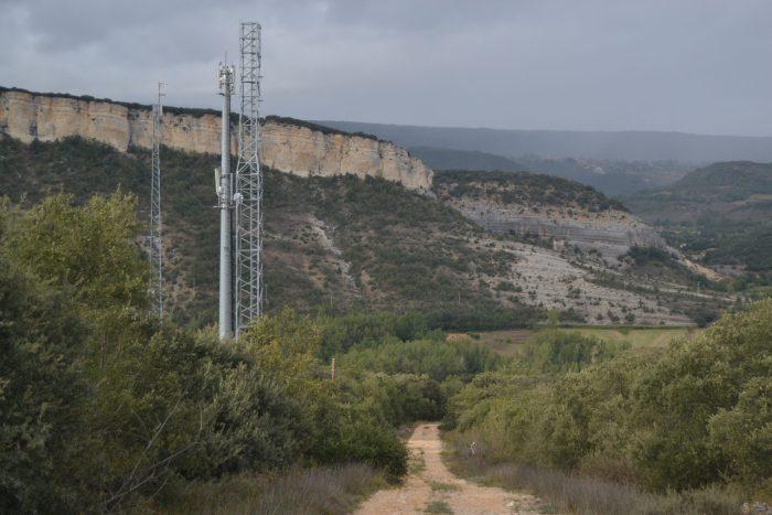 Torres de telefonía de Puentedey