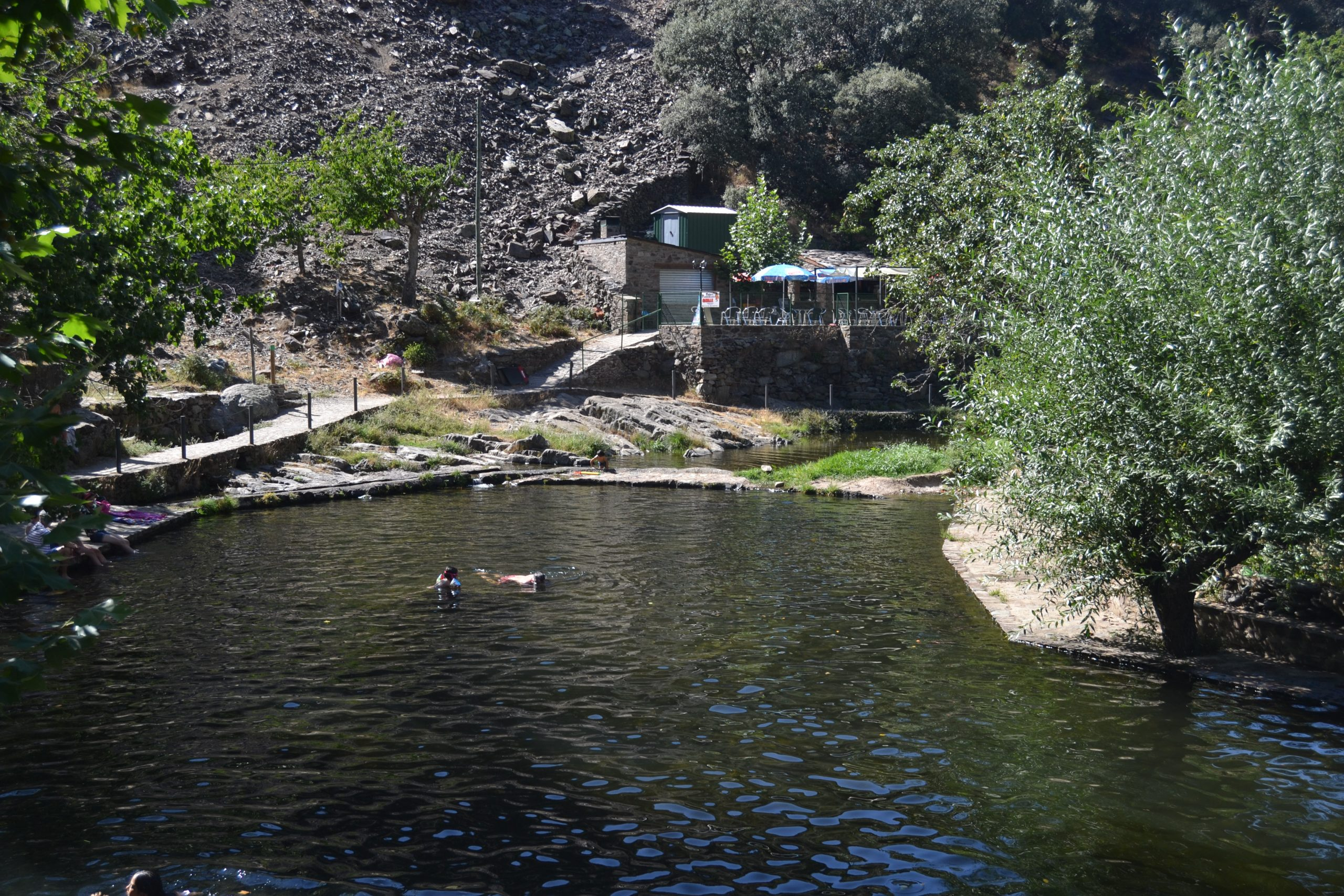 Piscina natural de El Gasco