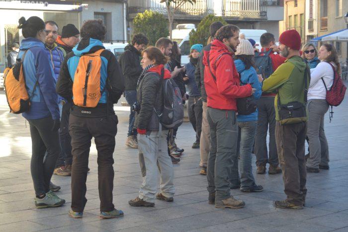 Inicio de la Salida micológica en Navaluenga