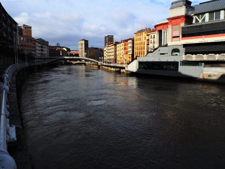 Vistas desde el nuevo local del Restaurante Al Margen de Bilbao