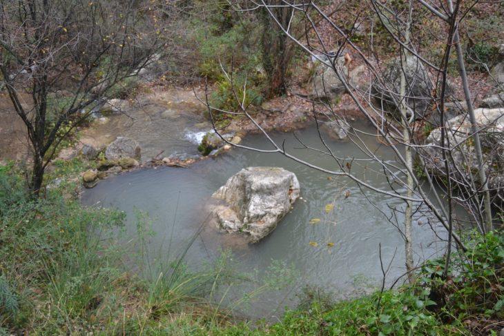Poza en el río Cerezuelo