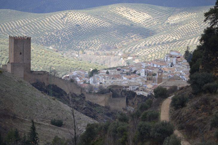 Castillo de la Yedra sobre Cazorla
