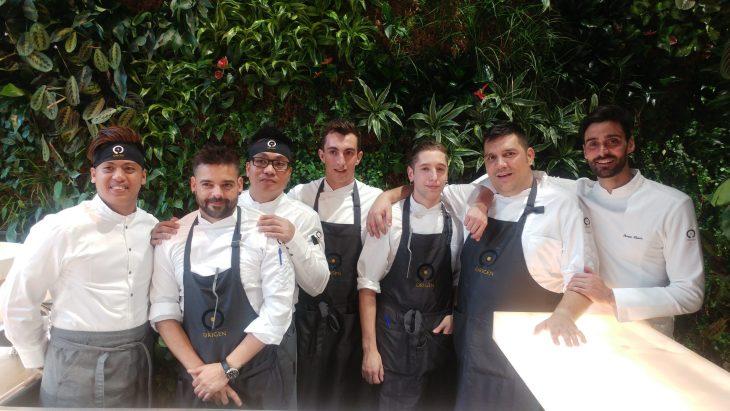 Cocineros del Restaurante Origen