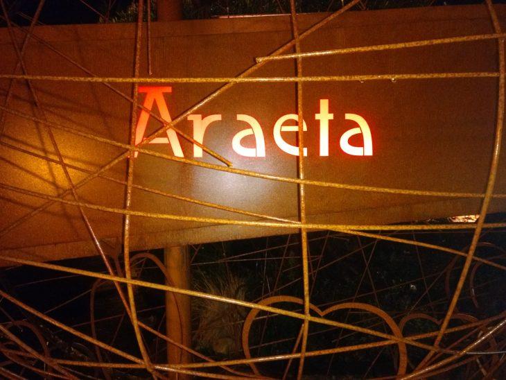 Menú de sidrería en Araeta Sagardotegia
