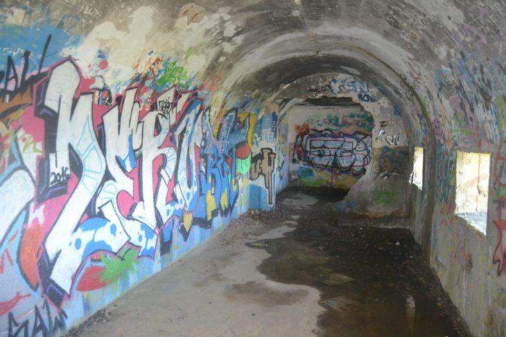 Dependencias del bunker de Gorliz